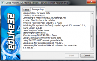 Attached Image: Eduke32_launcher_Hang.png